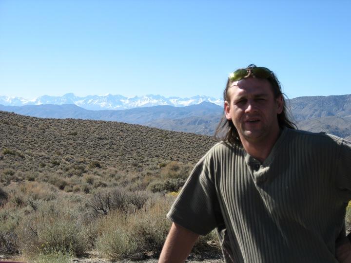 Wspaniałe widoki na Owens Valley
